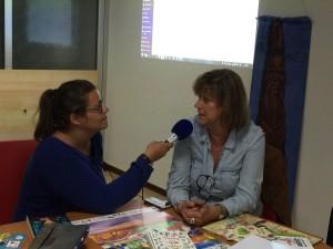 Interview aux médias