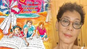 Chantal Delannay et l'affiche 2020