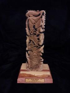 Le trophée d'Estelle Faye